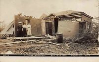 Real Photo Postcard Home After Cyclone Wreckage in Louisville, Nebraska~114279