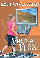 MOUNTAIN FALL SCENERY VIRTUAL WALK WALKING TREADMILL WORKOUT DVD AMBIENT COLL