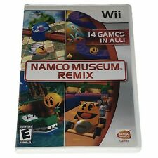 Namco Museum Remix (Nintendo Wii, 2007) Complete w/Manual CIB