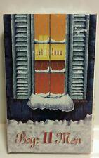 Boyz II Men Let It Snow Silent Night Single cassette NEW SEALED