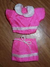 Barbie Doll Clothes Lot - Fashion Favorites 1999 Kelly Pink Top Skirt