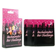 Bachelorette Party Bar Challenge Game - Fun Bridal Shower Favors