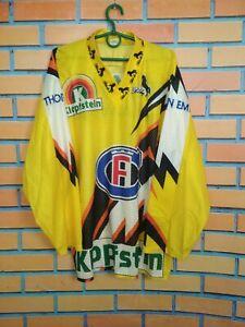 Fribourg-Gottуron Jersey LARGE Shirt Hockey Vintage Retro Blacky
