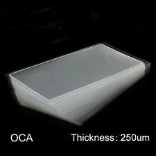 OCA Panel de cristal LCD Transparente ópticamente Adhesivo Lámina Adhesiva