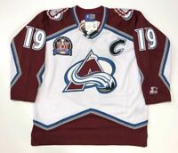 JOE SAKIC 1996 STANLEY CUP STARTER NHL COLORADO AVALANCHE JERSEY LARGE NEW W/TAG