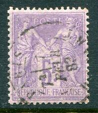 Classique de France Sage N° 95a oblitéré cachet à date léger TBC , cote: 100€