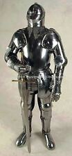 Medieval Full Suit of Armor 17th Century Combat Full Body Armour WITHOUT Sword