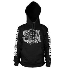 Officially Licensed Sons of Anarchy - Charming Reaper Hoodie S-XXL Sizes