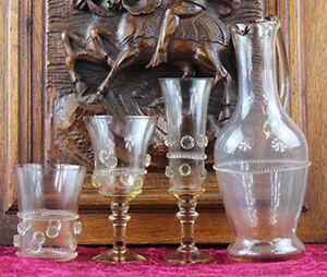 3004  Mittelalterliches Konvolut, Glas, Neu, Handarbeit, mundgeblasen