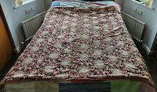 More details for antique vintage welsh handquilted wholecloth quilt