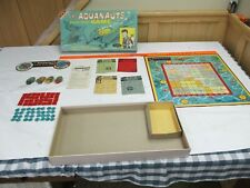 Rare  1961 THE AQUANAUTS board game -100%  complete in box Nice shape Transgram