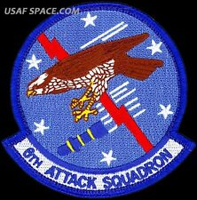 USAF 6th ATTACK SQUADRON - MQ-1 Predator- MQ-9 Reaper DRONES - ORIGINAL PATCH