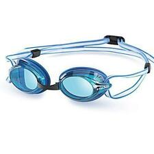 Lunettes de natation et d'aquagym bleu en silicone