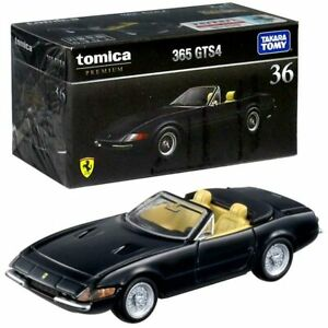 Takara Tomy TOMICA Premium No. 36 Ferrari 365 GTS4 Diecast Toy Car