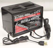 Associated 9407 Intellamatic Fully Automatic 6/12VOLT 10/60AMP Portable Charger