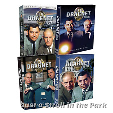 Dragnet: Complete TV Series (1967-1970) Seasons 1 2 3 4 Box / DVD Set(s) NEW!