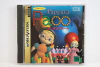Pappara Paoon Action Puzzle SEGA Saturn SS Japan Import US Seller G6385