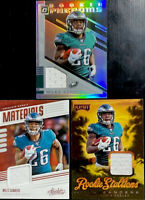 🔥 2019 MILES SANDERS RC Lot Optic Phenoms Playoff Stallions Absolute Materials
