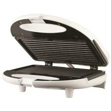 Panini Press Sandwich Maker Nonstick Electric Kitchen Cooking Indoor Home White
