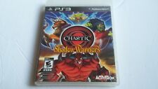 Chaotic: Shadow Warriors (Sony PlayStation 3 PS3, 2009) No Manual