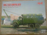 ICM Model Kit 1/35 ZiL-131 MTO-AT Soviet Army Vehicle # 35520 ref gj