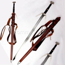 The Witcher 3 Wild Hunt Geralt of Rivia Western Sword Anime 1095 Steel Sharp