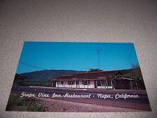 1960s GRAPE VINE INN-RESTAURANT NAPA CALIFORNIA VTG POSTCARD