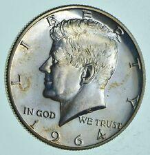 PROOF - 1964 Kennedy Half Dollar 90% Silver - Stunning Mirrors *091