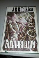 The Silmarillion, J.R.R. Tolkien, 1st Edition/3rd Printing, 1977 HC/DJ, W/ Map