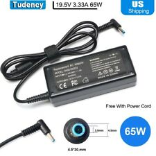 65W Ac Adapter Laptop Charger Compatible for Hp Envy 13 15 17 X360 15-1039wm New