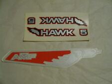Amf Roadmaster Bmx Hawk 5 Frame & chainguard decal nos