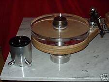 Watec- Analog, Laufwerk, Plattenspieler, 40mm Acrylteller