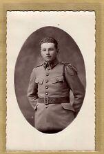 Cpa Carte Photo Militaire 4e RI Infanterie Auxerre Mailly WW1 m065