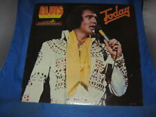 ELVIS PRESLEY-TODAY VINYL LP ALBUM QUADRA DISC APD1-1039 [1975]  [INV-38]