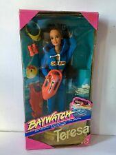 Teresa Baywatch 1994 Box Barbie New Doll Mattel