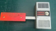 Detex alarm Ecl-230C Works Great + Schlage cylinder + battery key + good battery