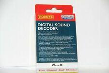 Hornby R8119 TTS digital sound decoder Class 40 BRAND NEW