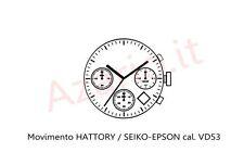 Movimento al quarzo HATTORI VD53 movement quartz Shiojiri TMI watch Japan Made