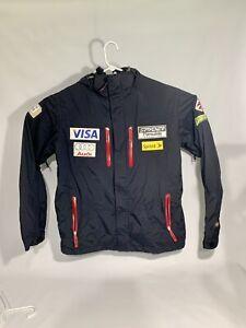 Official US Ski Team Spyder Jacket Men's Black Medium