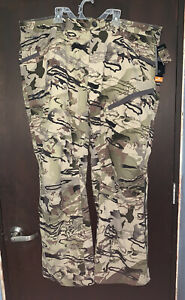 Under Armour UA Grit Hunting Pants Barren Camo 1347443-999 Size 34
