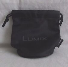 "Panasonic Soft Pouch Case/Storage Bag Lumix 3X2X2"" small M4/3 12mm f1.4 12-32mm"