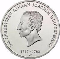 Deutschland 20 Euro 2017 Johann Joachim Winckelmann bankfrisch