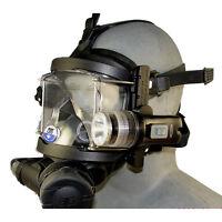 Guardian Full Face Mask Accessory Rail System w/ LED Light