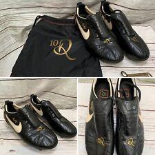 Nike Tiempo Legend Ronaldinho R10 FG 10R K-Leather Football Boots Size UK 11