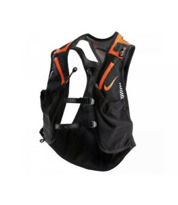 Nike Trail Kiger Vest Running Black Orange Men's Women's Sz.Small NEW NRL96041SL