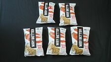 5 Bags Of Way Better Sweet Chili Whole Grain Corn Tortilla Chips 5.5 Oz Each