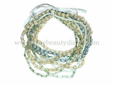 FASHION ACCESSORIES 10 BRACELETS BEADS BLUE & GREEN MIX MORE BARGAINS IN SHOP
