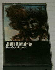 """Jimmi Hendrix """"The Cry of Love"""" Cassette Tape Out Of Print 1981 Vg+ To Nm Psych"""