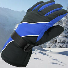 Winter Bicycle Motorcycle Bike Gloves Unisex Riding Full Long Finger Windproof B