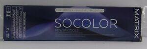 MATRIX SoColor POWER COOLS Low Ammonia Permanent Hair Color ~ 3 oz. / 85g